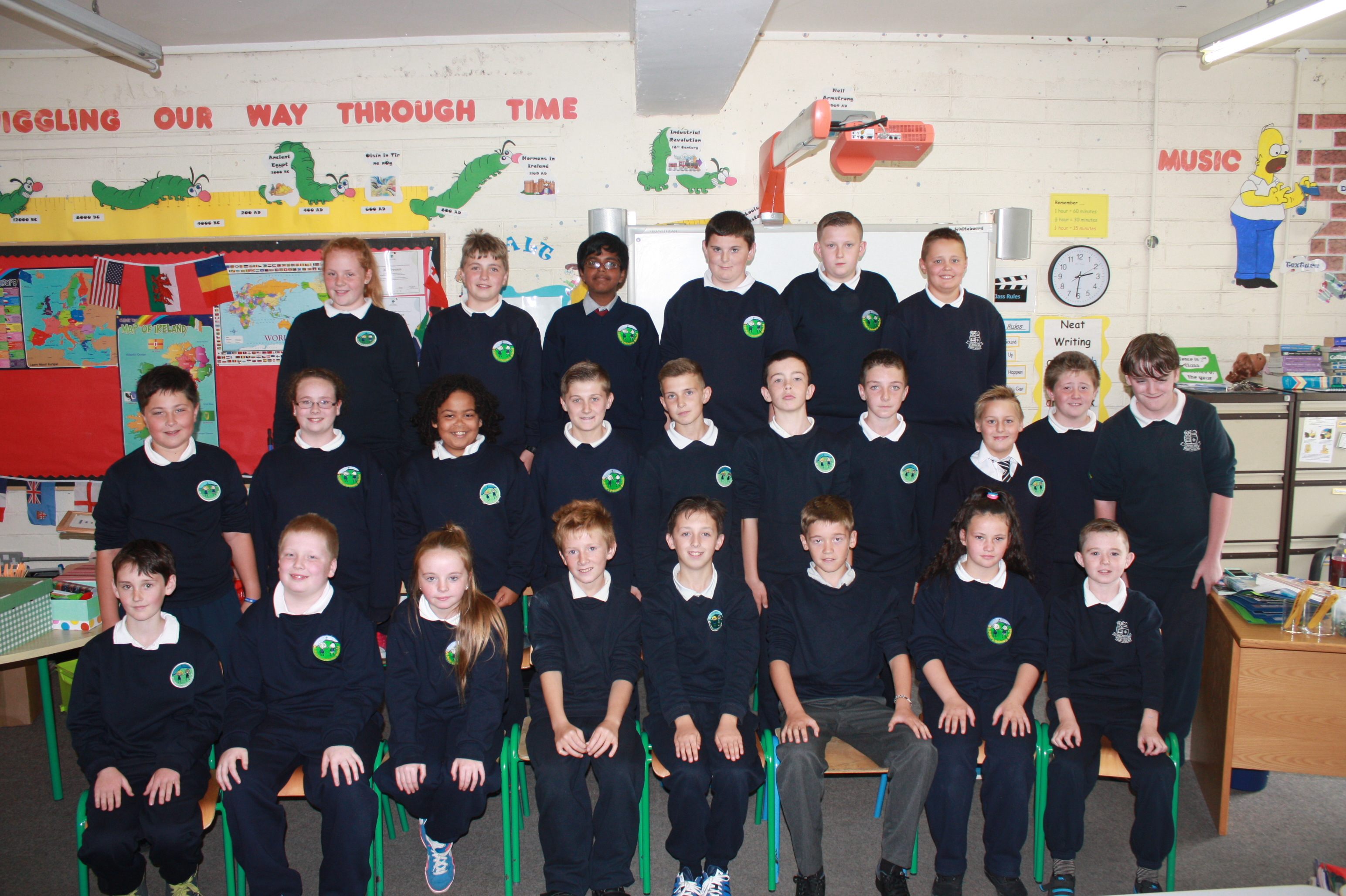 6th Class, St. Peter's Bray 2014-2015