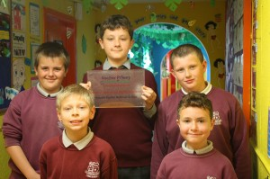 Some of our pupils with our latest 2013 Discover Primary Science Award
