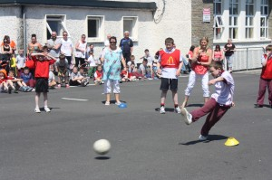 Fun and games at the annual St. Peter's World Cup Final, held every June!