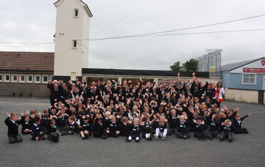 St Peter's welcomed boys and girls into all classes - from Junior Infants to 6th Class - for the first time in 2014.